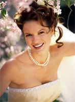 свадебные ожерелья серьги